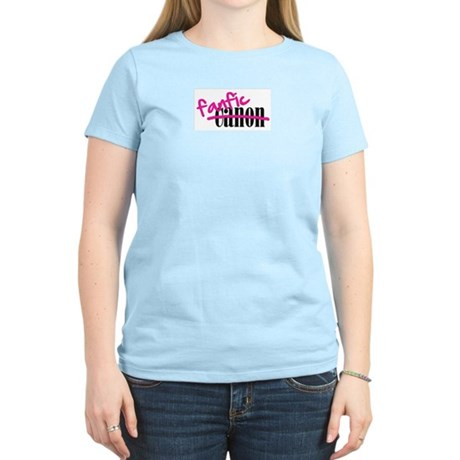 Canon/Fanfic Women's Light T-Shirt