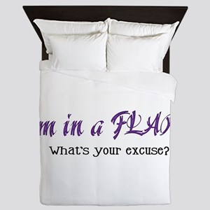 I'm in a Flare. What's your e Queen Duvet