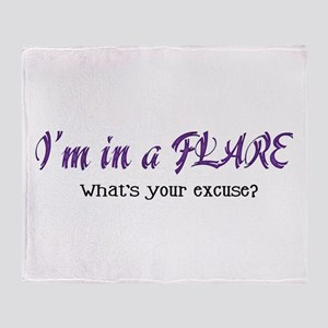 I'm in a Flare. What's your e Throw Blanket
