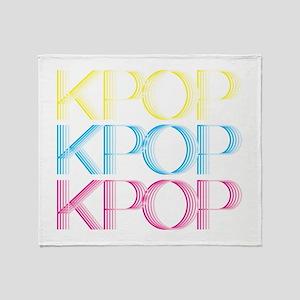 KPOP Neon Throw Blanket