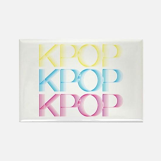KPOP Neon Rectangle Magnet
