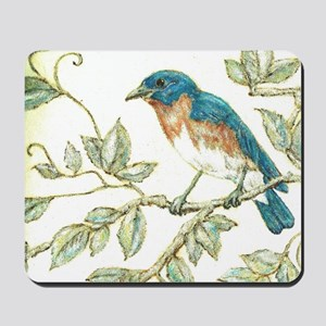 """EASTERN BLUEBIRD"" Mousepad"