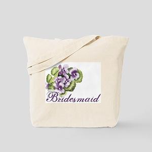 Floral Bridesmaid Tote Bag