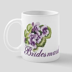 Floral Bridesmaid Mug