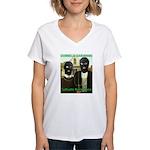 Cultivate Resistance Women's V-Neck T-Shirt