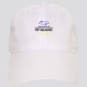 Too Stupid for Science Cap
