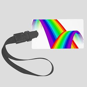 LGBTQ Pride Love Rainbow Large Luggage Tag