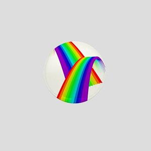 LGBTQ Pride Love Rainbow Mini Button