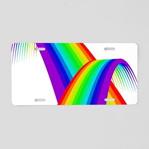 LGBTQ Pride Love Rainbow Aluminum License Plate