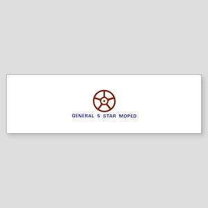 General 5 Star Sticker (Bumper)