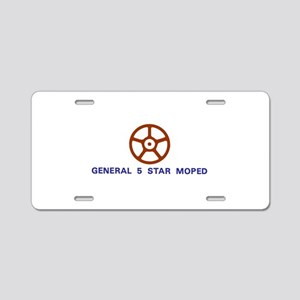 General 5 Star Aluminum License Plate