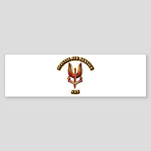 UK - Special Air Service Sticker (Bumper)