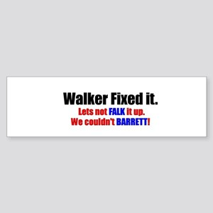 Walker2 Bumper Sticker