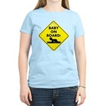 Baby On Board Women's Light T-Shirt