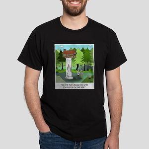 Unusual Post & Pier Construction Dark T-Shirt