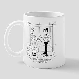 Golf Clubs Don't Fit Me Mug