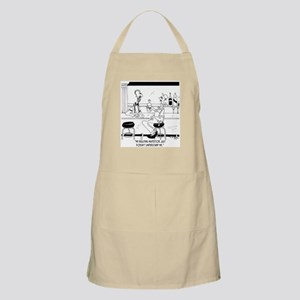 My Inspector Doesn't Understand Me Apron