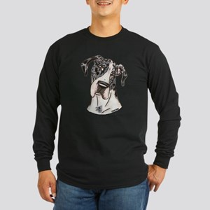 MM Over Here Long Sleeve Dark T-Shirt