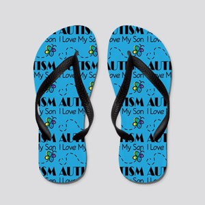 Autism I Love My Son Flip Flops
