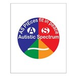 Autistic Spectrum Small Poster