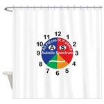 Autistic Spectrum Shower Curtain