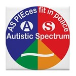 Autistic Spectrum Tile Coaster