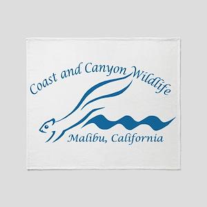 Coast & Canyon Throw Blanket