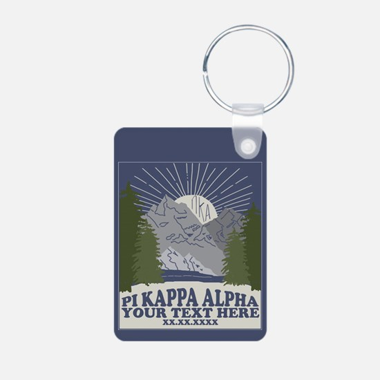 Pi Kappa Alpha Mountain Pe Keychains