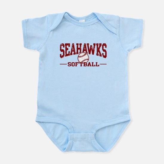 Seahawks Softball Infant Bodysuit