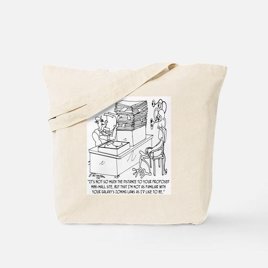 Zoning Galaxy Laws Tote Bag