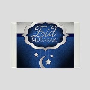 Royal Blue Eid Mubarak Magnets