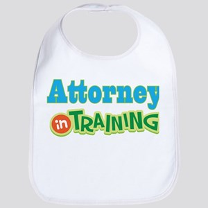 Attorney In Training Baby Bib