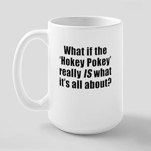 """""""Hokey Pokey"""" Large Mug"""