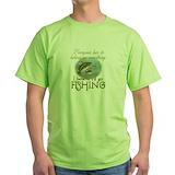 Fishing Green T-Shirt