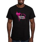 Brooke's Big Heart Men's Fitted T-Shirt (dark)