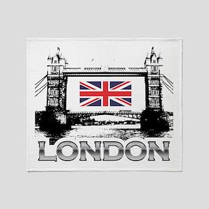 London - Tower Bridge Throw Blanket