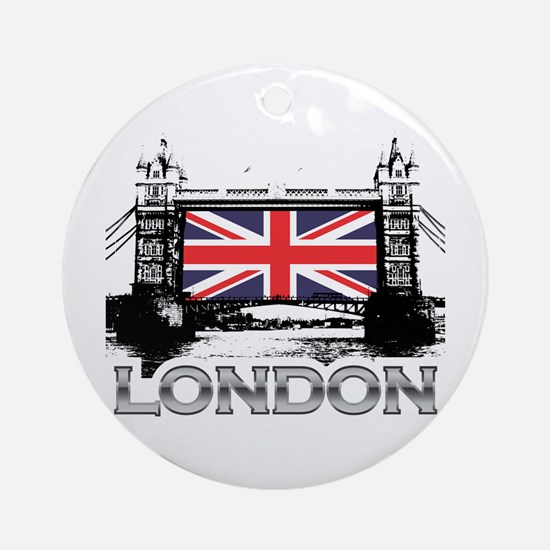 Tower Bridge Ornament (Round)
