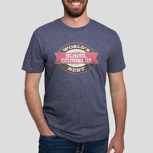 School Counselor Gift Mens Tri-Blend T-Shirt