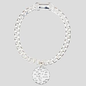 PharmD Student Charm Bracelet, One Charm