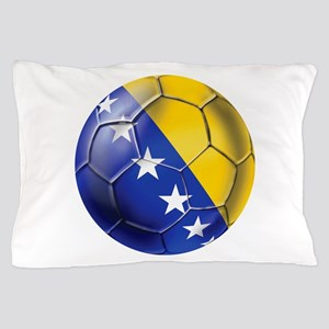 Bosnia Football Pillow Case
