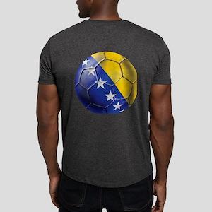 Bosnia Football Dark T-Shirt