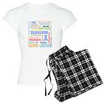 Survivor - Stomach Cancer Women's Light Pajamas