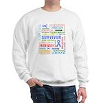 Survivor - Stomach Cancer Sweatshirt