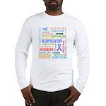 Survivor - Stomach Cancer Long Sleeve T-Shirt
