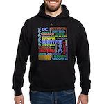 Survivor - Stomach Cancer Hoodie (dark)