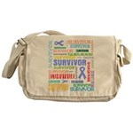 Survivor - Stomach Cancer Messenger Bag