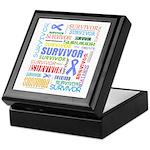 Survivor - Stomach Cancer Keepsake Box