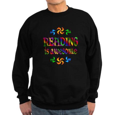 Reading is Awesome Sweatshirt (dark)