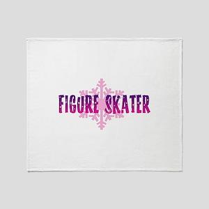 Figure Skater 2 Throw Blanket