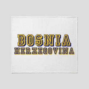 Bosnia Herzegovina Throw Blanket
